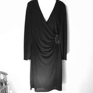 JSBoutique black cocktail dress size 10